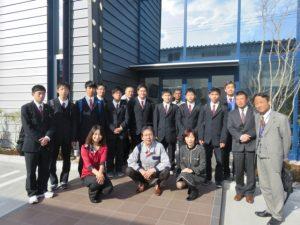 吉井高校見学